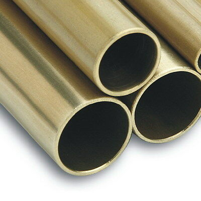 Brass Tube - 10mm 1/2  5/8  19mm 25mm 32mm 38mm 51mm 2  Brass Tube Brass Pipe * • 25.99£
