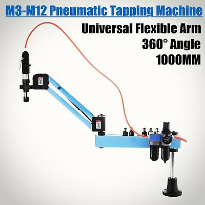 M3-M12 Vertical Type Pneumatic Tapping Machine Flexible Arm 1000mm • 360.52£