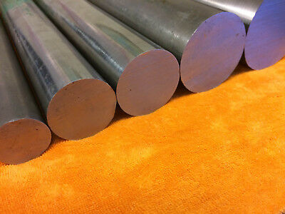 CHEAP Bright Mild Steel EN3B Round Solid Metal Bar Rod 4mm-50mm Various Lengths • 7.82£