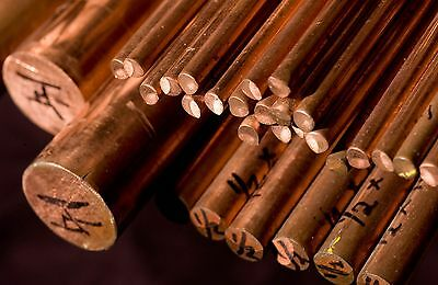 Copper Round Bar / Rod - 5mm To 60mm Diameters- Various Lengths Available  • 15.29£