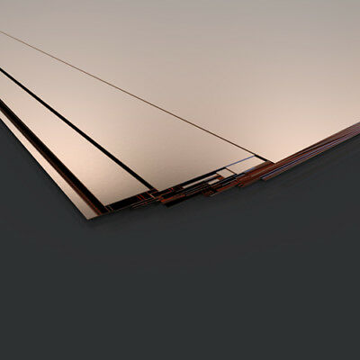 0.5mm Copper Sheet /plate - Guillotine Cut- Model Making Supply  - Various Sizes • 2.99£