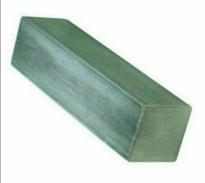 MILD STEEL SQUARE  BAR/ROD -  Various Combinations Of Length/ Diameter(size) • 10.19£