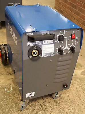TECARC PROFMIG C211 COMPACT MIG WELDER - Built In The UK   (SHOP SOILED MACHINE) • 630£