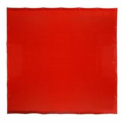 Defender 6x6 Welding Curtain In RED (no Frame Included) • 45£