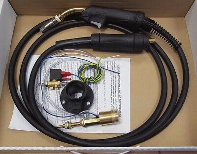 MIG EURO TORCH CONVERSION KIT (including MB25 4M Torch And Gas Solenoid) • 103£