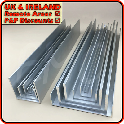 Aluminium Channel║DISCOUNTED Due To Defect║(U C Section, Gutter, Profile) • 13.95£