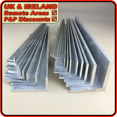 Aluminium Angle║DISCOUNTED Due To Defect║10mm - 150mm║1mm - 12mm • 11.95£