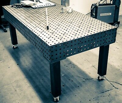 Fabrication Jig Fab Welding Table Bench 2.4x1.2m (sizes Available/Delivery Pos.) • 2,150£