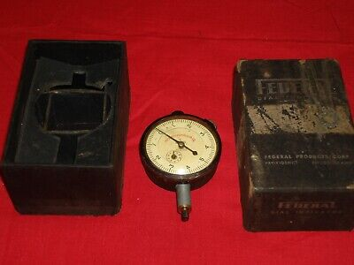 Packard Motor Car Co./Federal Dial Indicator- Reads In 1/10000  Pre 1958 • 30£