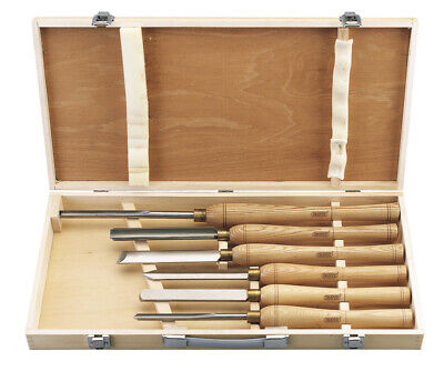 Draper 58697 AWL44 6 Piece HSS Woodturning Chisel Set • 136.52£