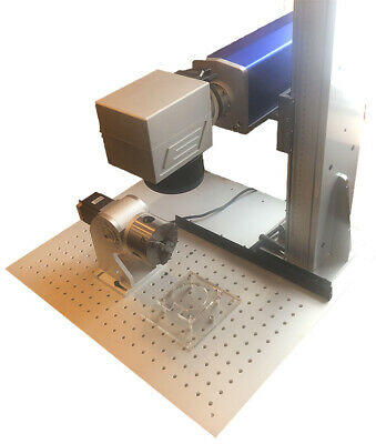 Fiber Laser Base Plate - 6061-T6 Anodized Aluminum For Lasers Tower • 204.11£