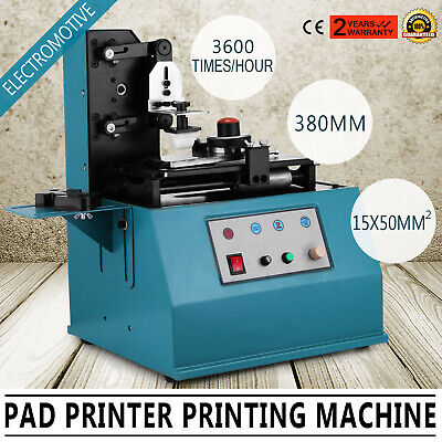 TDY-300 Pad Printer Date Logo Printing Machine Smooth Cheap Electrical GREAT • 169.97£