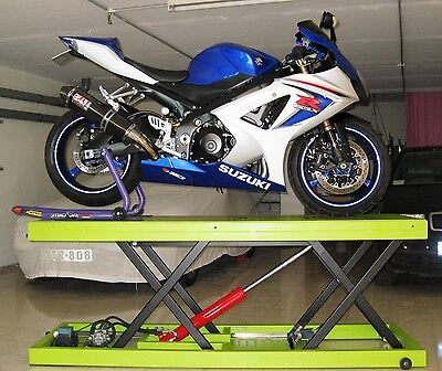 Hydraulic Bike / Motorcycle Lift / Jack Table - INSTRUCTIONS MANUAL / PLANS  • 8.91£