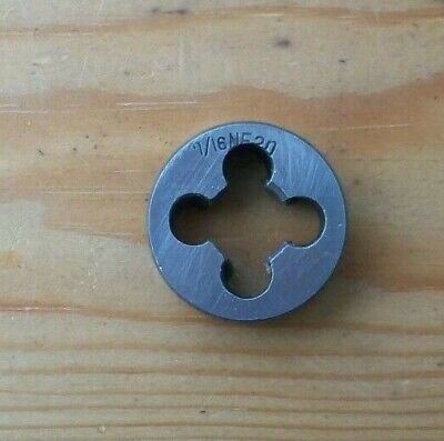 7/16  Nf Unf Die ~ 20 Tpi ~ 25mm O/d ~ Model Engineer • 4.49£