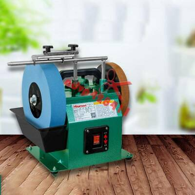 Electric Knife Sharpener Water-cooled Grinder Low Speed Grinding Machine 220V • 234.77£