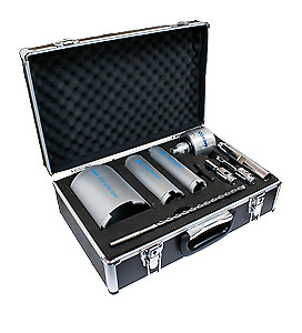 Mexco 9 Piece Dcx90 Slotted Dry Core Drill Kit With Extractor • 179.99£