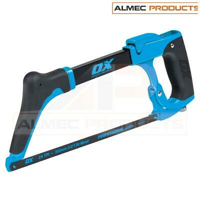 OX Pro 12  / 300mm High Tension Hack Saw Construction Site Tools OX-P130730 • 24.19£