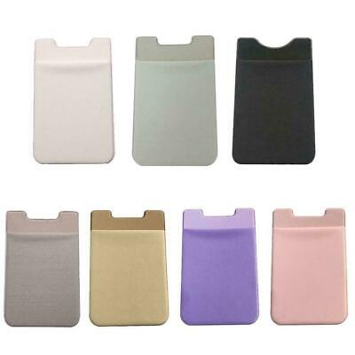 Credit Card Holder Pocket Sticker Adhesive Wallet Pouch Case Portable Nice E8A6 • 2.24£