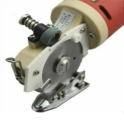 220V 65mm Blade Electric Cloth Cutter Fabric Cutting Machine Knife Cut Machine • 62.50£