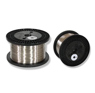 10m 99% Pure Nickel Ni Nickle Metal Wire Dia 0.1-1mm Electroplating Anode • 11.19£