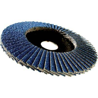 3M 65027 566A Conical Flap Disc 115MM P80 • 3.29£