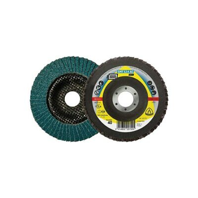 Klingspor SMT 524 AC ACCU 125MM Zirconia Alumina Conical Flap Disc For Cordless  • 5.69£