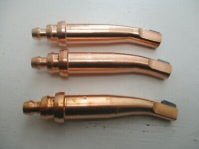 3 X AGNM Gouging Nozzles 3 Sizes 13, 19 And 25. Cutting / Welding Acetylene • 29.99£