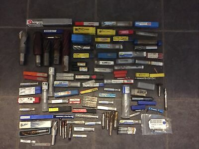 New - Job Lot Of 95 X High Speed Steel End Mills - Various Brands Various Sizes • 447.50£