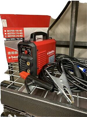 Arc Welder Lincoln Bester 210-ND Inverter MMA Package, Two Year Warranty - 230v • 240£