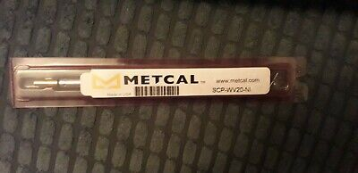 Metcal Soldering Iron Tip, Brand New, SCP-WV20 • 8.30£