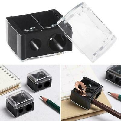 DOUBLE PENCIL SHARPENER Cosmetic Make Up Lip Liner Duo Brow Cap Eyeliner + B0T5 • 1.80£