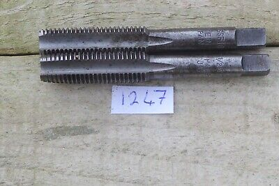 Pair Of 1/2 X 16 BSF Taps Good Condition Made In Japan British Standard Fine • 5.50£