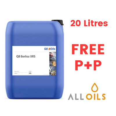 Q8 Oils Berlioz XRS Fully Synthetic Water Soluble Cutting Grinding Fluid 20litre • 131.99£