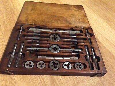 Engineers / Model Makers Whitworth Tap And Die Set 1/8 W To 3/8 W By TruKut • 55£