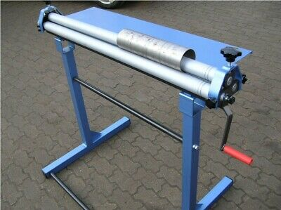 New 1000mm (40') / 0.9mm Sheet Metal Rolling Mill Bending Roller, Free Delivery • 430£