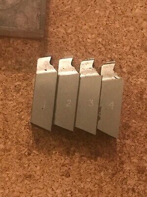 3/8 Inch X 20 BSF Dies / Chasers To Fit 1/2inch Die Head • 9.99£