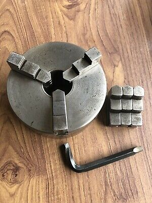 """3 Jaw Lathe Chuck By Crown 5"""" Dia. • 25£"""