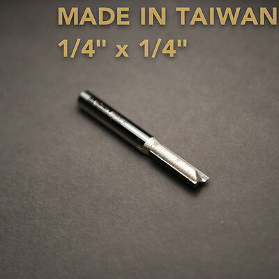 HSS Straight Slot Router Cutter Bit 1/4  X 1/4  - TAIWAN Playwood • 4.26£