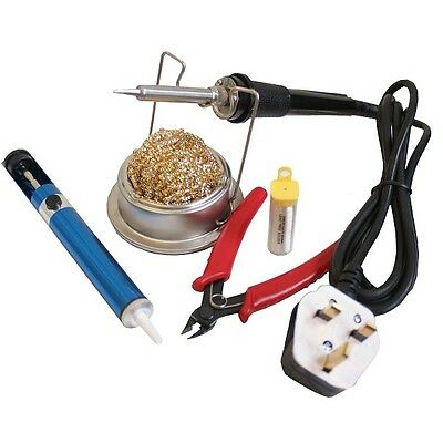 Soldering Kit Iron Cutters, Desolder Tool Holder • 27.55£