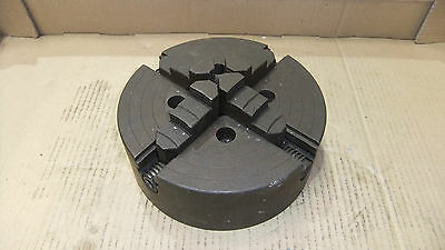 9  Four Jaw Chuck, Not Colchester Lathe, Backplate Mounting. • 120£
