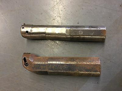 Tool Holder, Threading Lathe Tool, Boring Bar - Lot Of X 2 (joblot 3667) • 50£