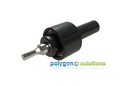 NEW Rotary Broach / Wobble Broach Tool Holder 5/8  Shank For 1/2  Shank Broaches • 262.27£