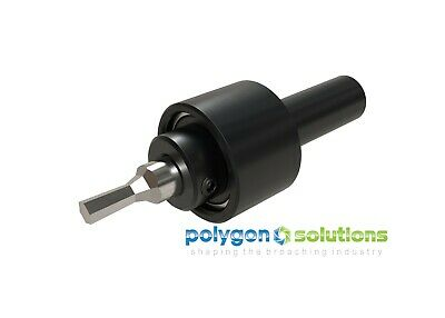 NEW Rotary Broach / Wobble Broach Tool Holder 5/8  Shank For 1/2  Shank Broaches • 251.11£