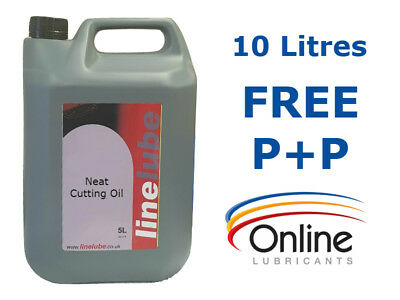 LineLube Neat Cutting Oil Grinding Milling Drilling Threading 10 Litres 10 L • 54.24£