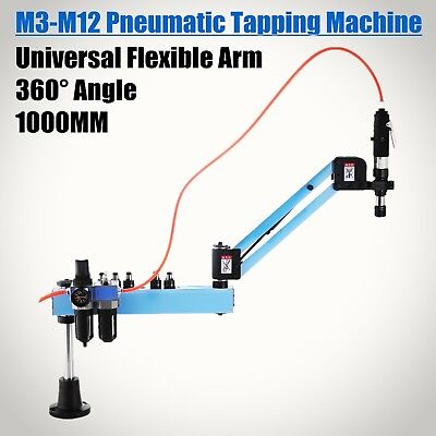 Vertical Pneumatic Tapping Drilling Machine Radius 1000mm Horizontal Automatic • 360.49£