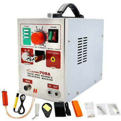 709A 60A 18560 Spot Welder Welding Universal Welder Pen For Battery Soldering UK • 141.35£