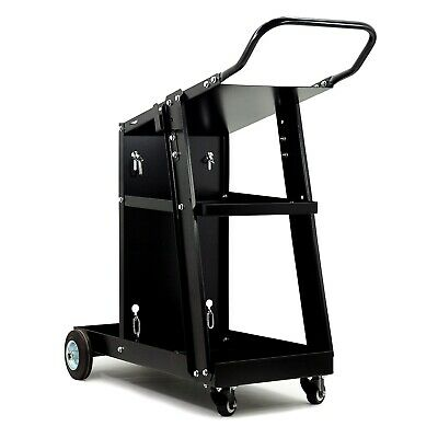 Welding Cart With Holder Trolley For Welding Machine, MIG TIG PLASMA -Chains • 76.99£