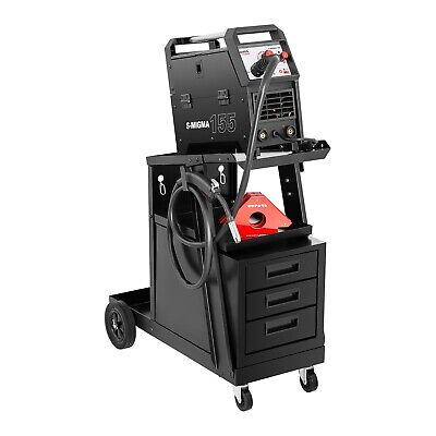 Welding Cart With Drawers Welding Wagon Professional Accessories 3 Drawers 75Kg • 259£