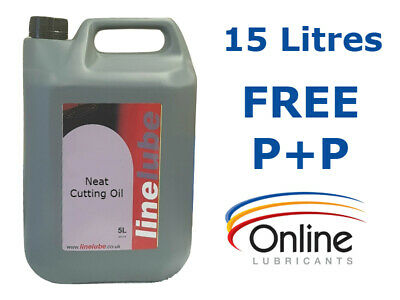 LineLube Neat Cutting Oil Grinding Milling Drilling Threading 15 L 15 Litres • 69.05£