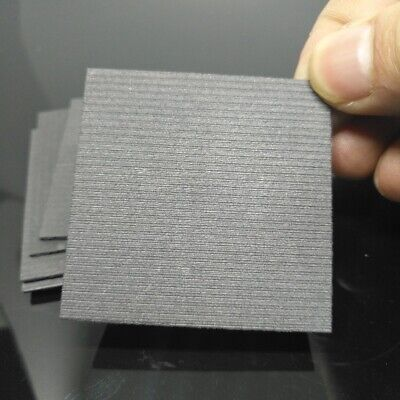 5pcs 99.99% Pure Graphite Electrode Rectangle Plate Sheet 50*50*2mm F Electrode • 4.28£